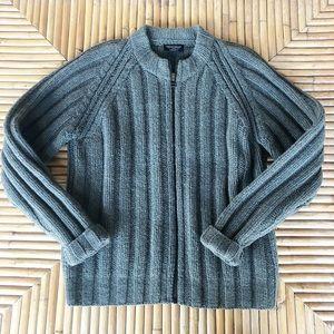 Polo Ralph Lauren Men s 100% wool green zip up ee0f325a9